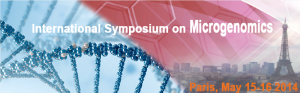 The first Symposium on Microgenomics to be held 15-16 May 2014, in Paris