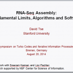 RNA-Seq Assembly – Fundamental Limits, Algorithms and Software
