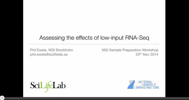 Assessing the effects of low-input RNA-seq