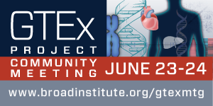 2015 GTEx Project Community Scientific Meeting