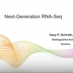 Gary Schroth – Keynote – Next Generation RNA Seq Workflows and Analysis