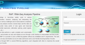 RAP – RNA-Seq Analysis Pipeline, a new cloud-based NGS web application