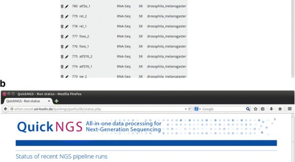 QuickNGS – All-in-one Data Processing for Next Generation Sequencing