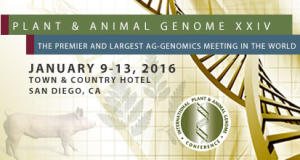 Plant & Animal Genomes Conference – 2016