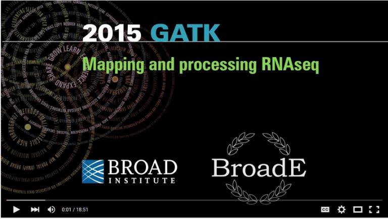 BroadE – GATK/Mapping and processing RNAseq