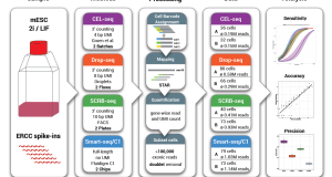 Comparative analysis of single-cell RNA-sequencing methods