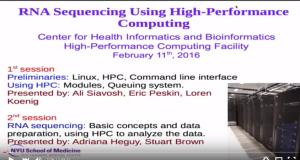 RNA-Seq Using High Performance Computing