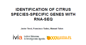 Identification of Citrus Species-Specific Genes with RNA-Seq