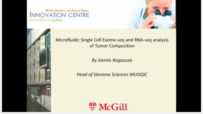 Microfluidic Single Cell Exome seq and RNA seq analysis of Tumor Composition