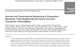 Breast Cancer Transcriptome Sequencing Study Touted As Most Cited In AACR Journal