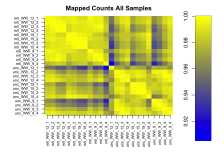 Analysis example for RNA-Seq experiments using the bioconductor package edgeR