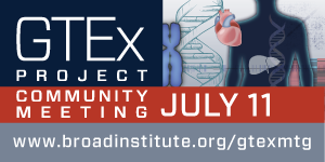 GTEx Project Community Scientific Meeting