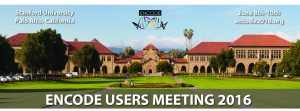 ENCODE 2016 – Research Applications and Users Meeting