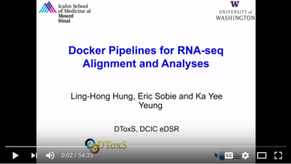 Docker Pipelines for RNA-Seq Alignment and Analyses